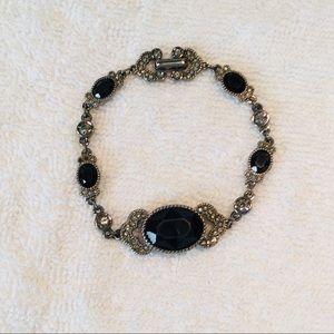 Swarovski Silver-tone Crystal Bracelet